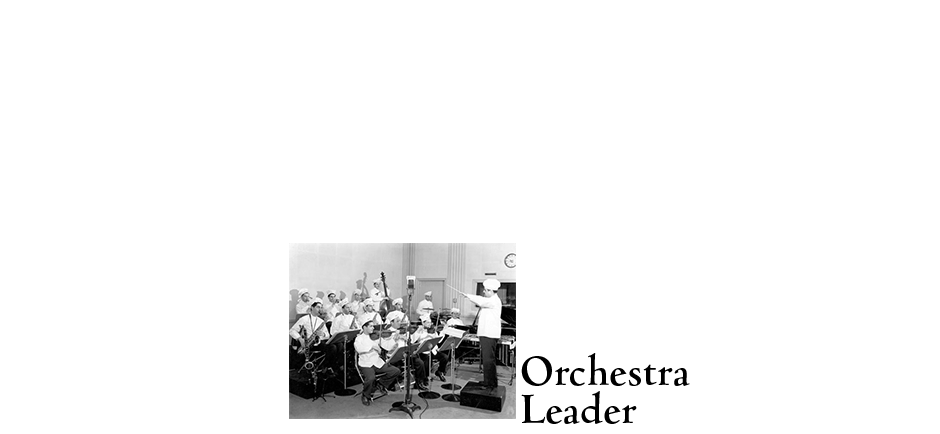 Norman as Orchestra Leader
