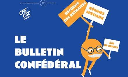 Le bulletin confédéral n°69 de la CFE-CGC