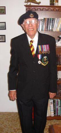 Eddie Moore. D Day Veteran