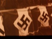 Images of the Nazi flag in Germany before the Second World War