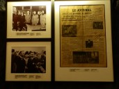 Photographs and newspaper clippings