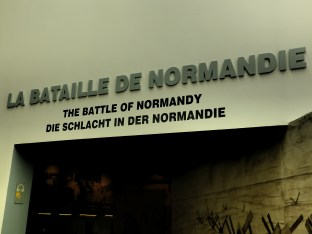 Entrance to the 'Battle of Normandy' section