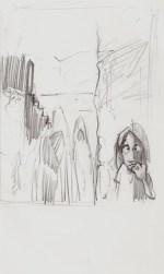 Von der Skizze zur Zeichnung