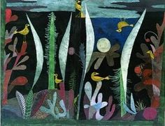 Paul Klee - Landscape Forest and Birds