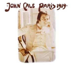 Cover of John Cale album Paris 1919
