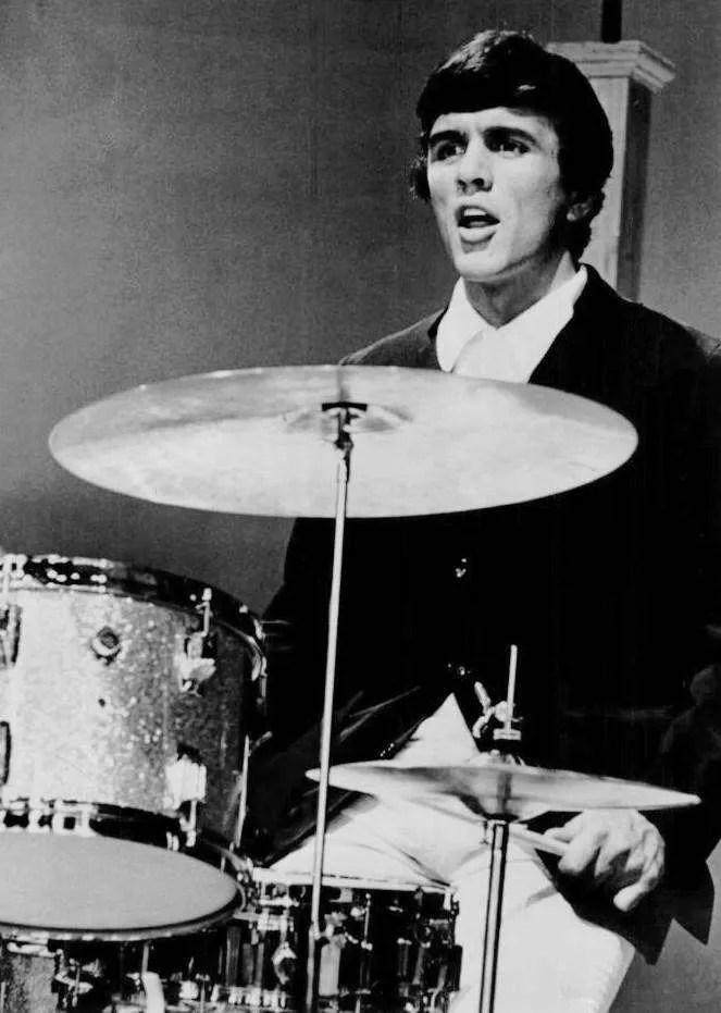 Dave Clark drumming