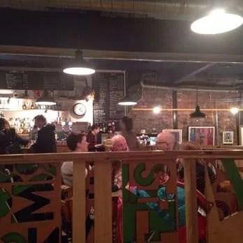 Inside the Glad Cafe