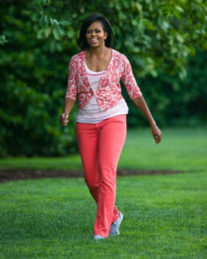 Norma Walton Michelle Obama Benefits of Walking