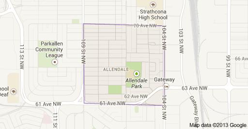 Allendale Edmonton Homes For Sale