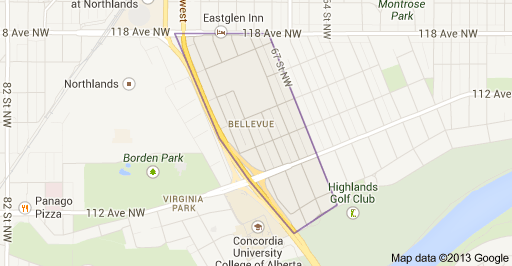 Bellevue Edmonton Homes For Sale
