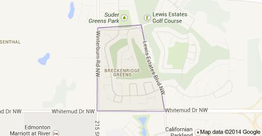 Breckenridge Greens Edmonton Homes For Sale