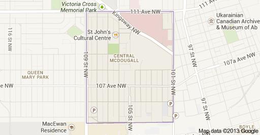 Central McDougall Edmonton Homes For Sale