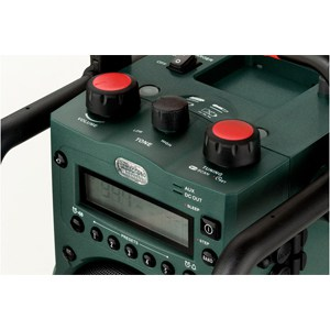 metabo batteridriven radio