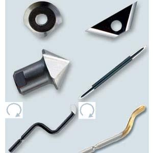 gradverktyg utbytbara skär