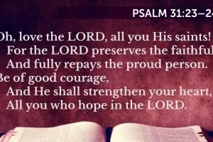 A New Year Prayer