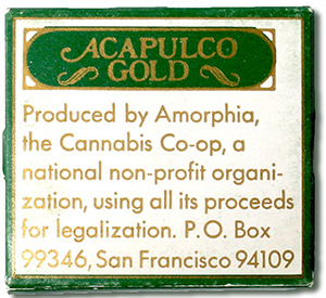 Amphoria Acapulco Gold rolling papers
