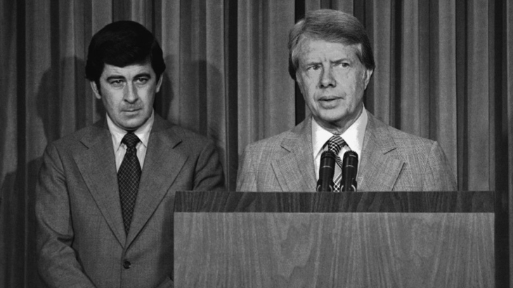 Peter Bourne and Jimmy Carter