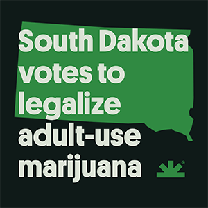 South Dakota Votes to Legalize Marijuana