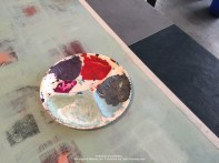 My painting palette....