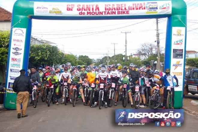 Largada Gp Santa Isabel - 5 julho 2015