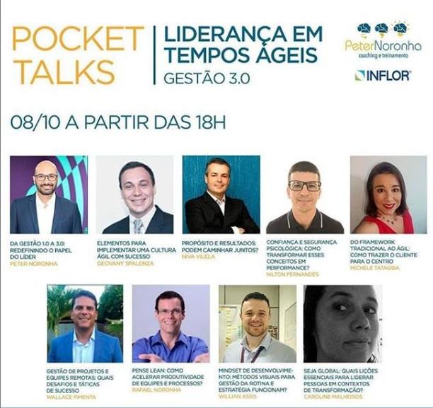 Pocket Talks LIDERANÇA EM TEMPOS ÁGEIS