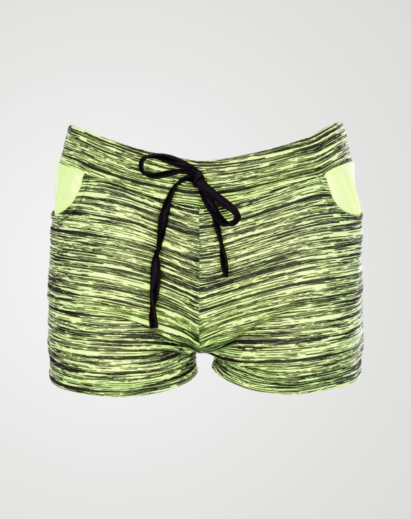 Image 1 of Girls Blurry Print Hot Pants Shorts of color Mint from Noroze