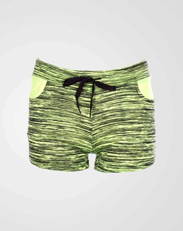 Image 1 of Blurry Pattern Hotpants Mint from Noroze