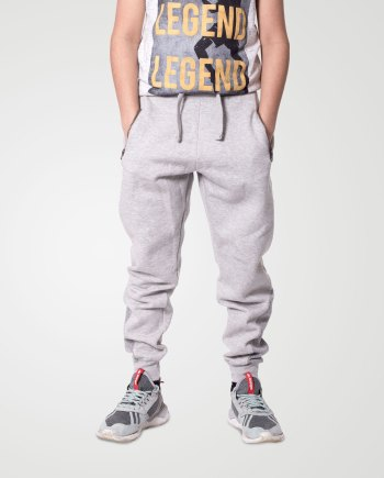 Image 1 of Boys Contrast Ankle Trouser color Grey and sizes 7-8, 9-10, 11-12, 13 from Noroze