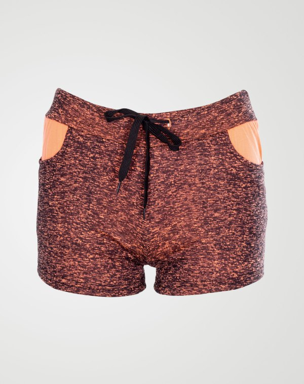 Image 1 of specky pattern hotpants Coral color from Noroze