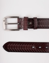 Image 7 of Mens Animal Patterned Leather Belt of color Coffee from Noroze