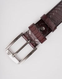 Image 8 of Mens Animal Patterned Leather Belt of color Coffee from Noroze
