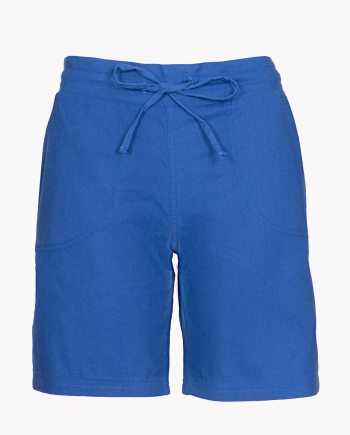 Image 1 of Womens Linen Summer Shorts color Royal-Blue and sizes 8, 10, 12, 14, 16, 18 from Noroze