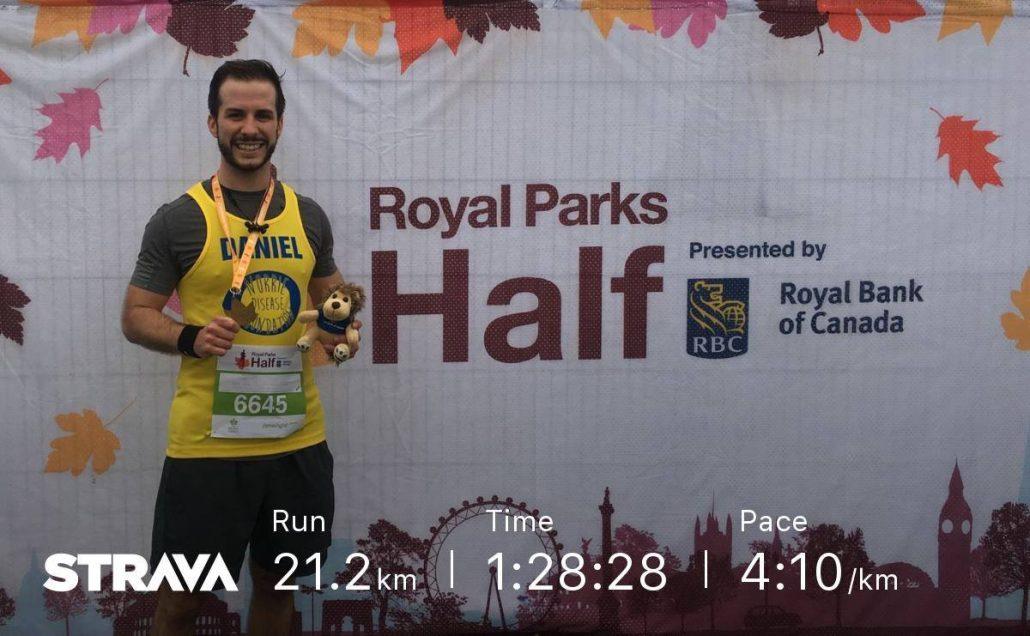 Half marathom fundraising