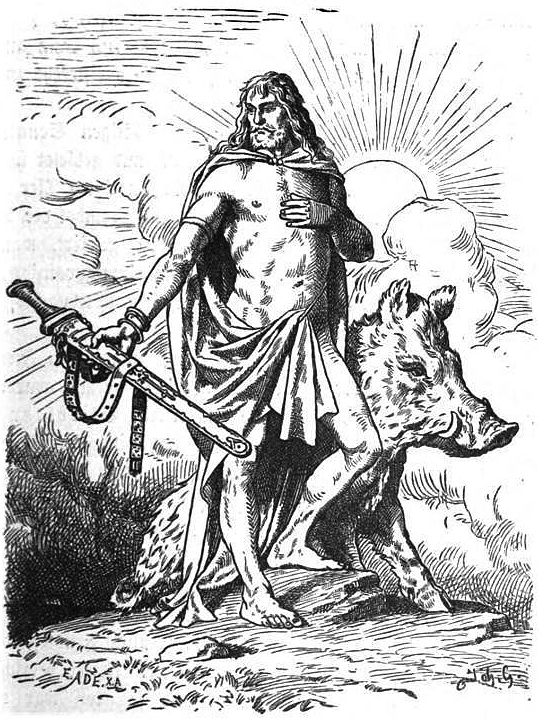 Freyr - Norse Mythology for Smart People