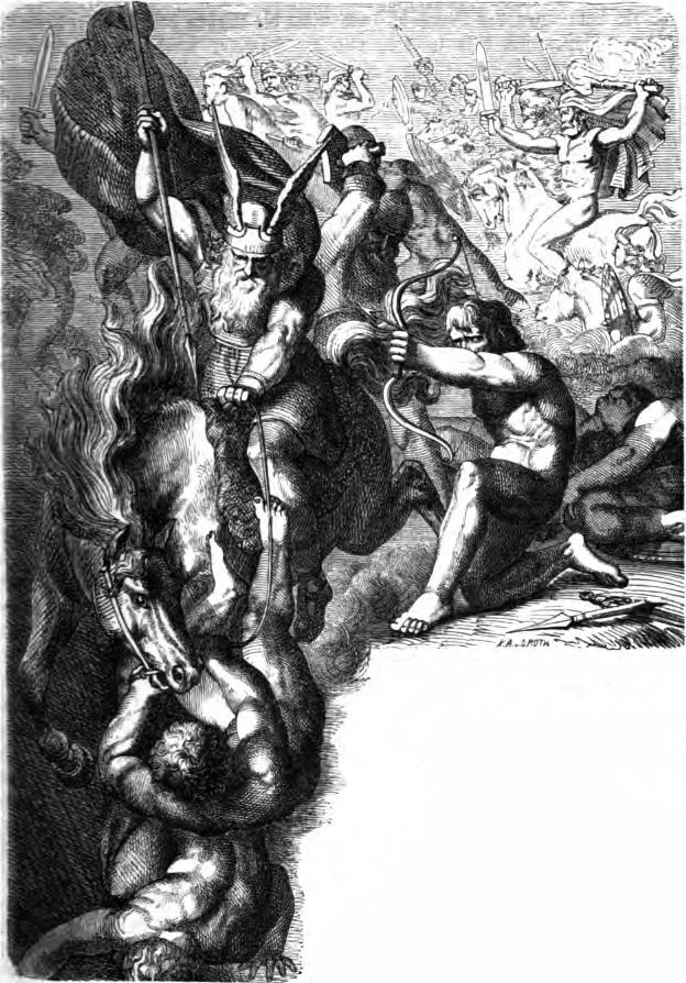 Image result for aesir vanir war