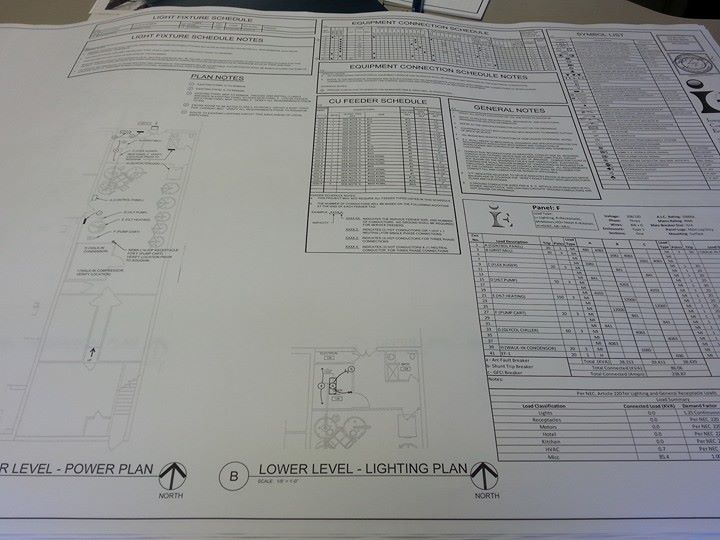 Construction MEP drawings completed | Norsemen Brewing