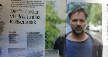 Derfor støtter vi Ulrik Imtiaz Rolfsens sak