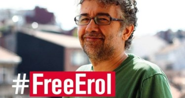 2016: Norsk PENs kollega Erol Önderoglu fengslet i Istanbul