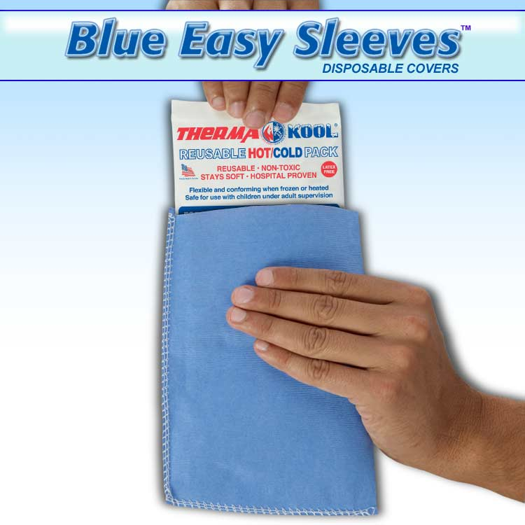 Blue Easy Sleeves Disposable Covers