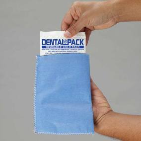 Dental Pack Reusable Cold Pack with Blue Easy Sleeve