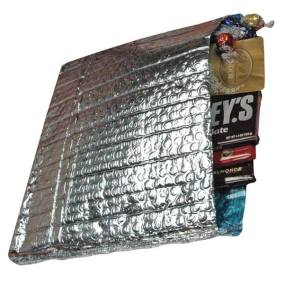 Cool Blue Foil Bubble Mailer with Chocolate