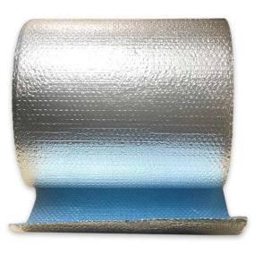 Cool Blue Foil Bubble Roll - Front View