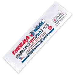 "ThermaKool Reusable Hot Cold Pack, Size: 4"" x 18"""