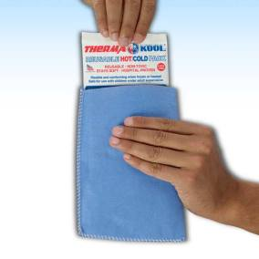 ThermaKool Hot Cold Compress with Blue Easy Sleeve