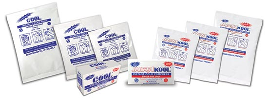 Cool & InstaKool Instant Cold - Safe & Ammonium Nitrate Free