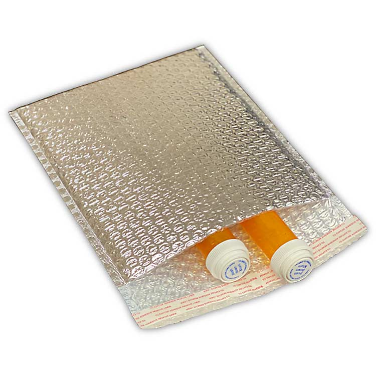 Foil Thermal Bubble Mailers, 3/16""
