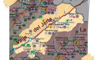Comarca Valle del del Jerte