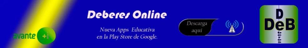 Vuelta al cole, Deberes Online