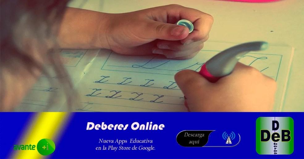 Vuelta al cole Deberes Online 2020