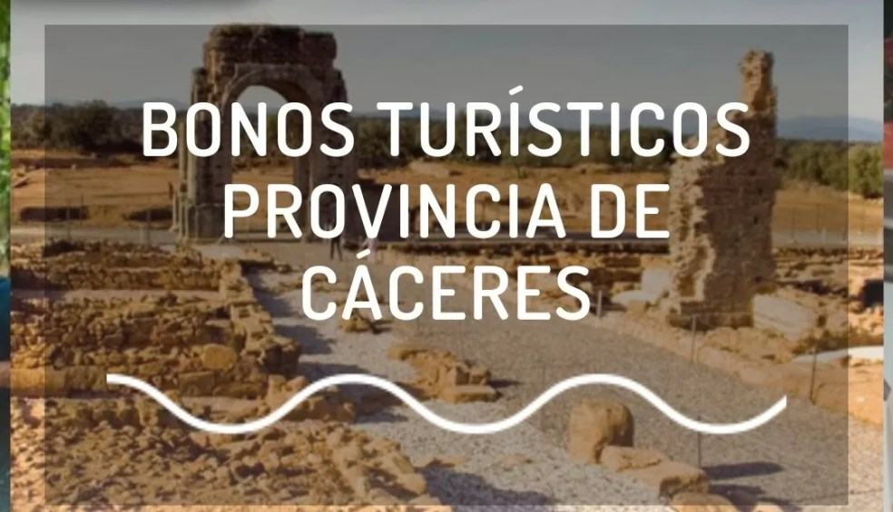 Bonos turísticos Provincia de Cáceres